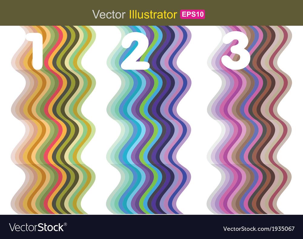 Wave color vector   Price: 1 Credit (USD $1)