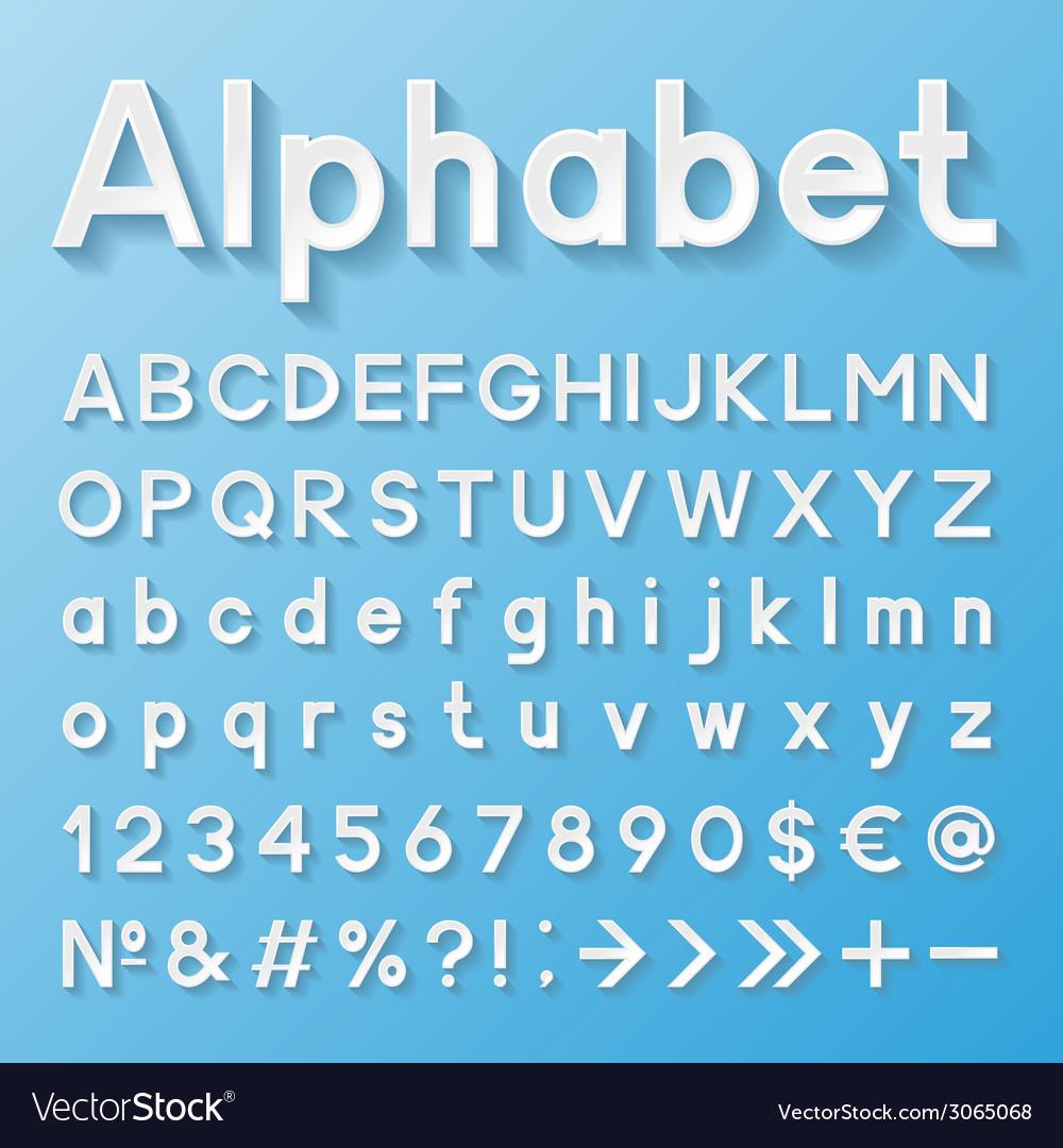 Decorative alphabet vector | Price: 1 Credit (USD $1)