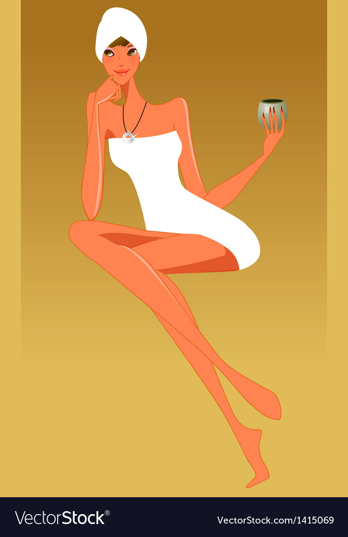 Close-up of woman vector | Price: 1 Credit (USD $1)