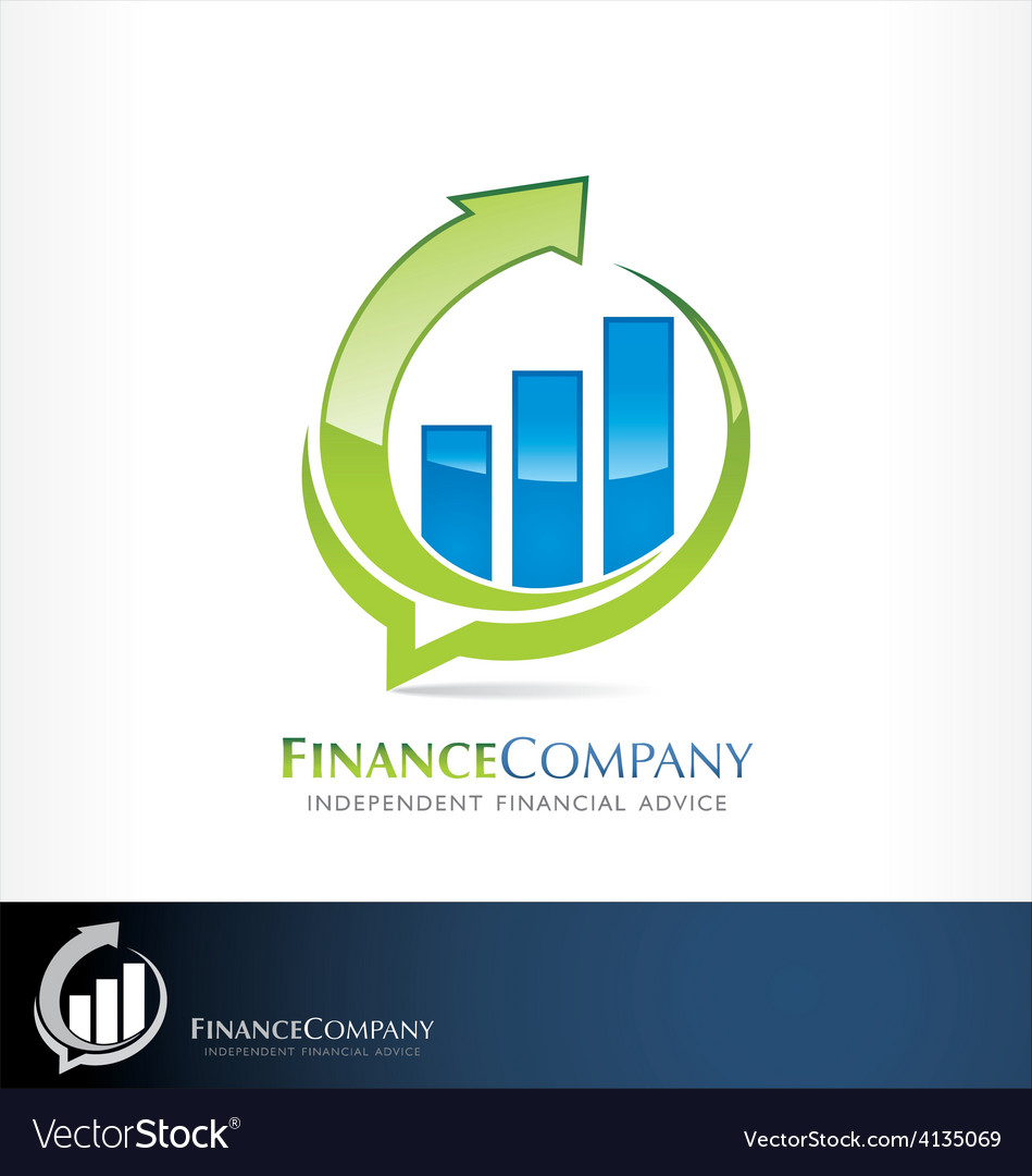 Finance logo vector | Price: 1 Credit (USD $1)