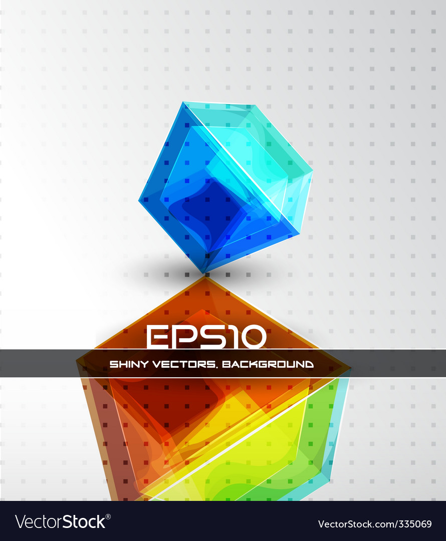 Futuristic dimensional design vector   Price: 1 Credit (USD $1)