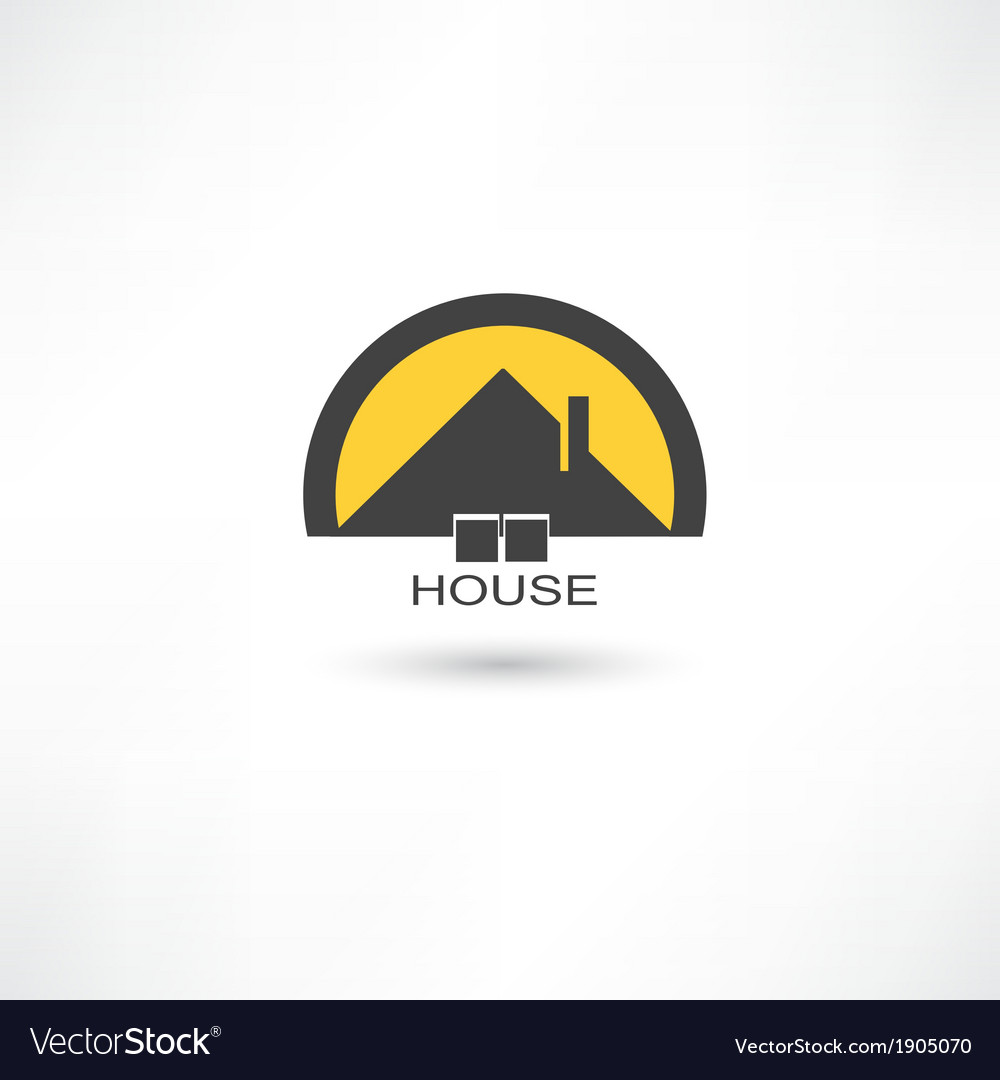 Black simple house vector | Price: 1 Credit (USD $1)