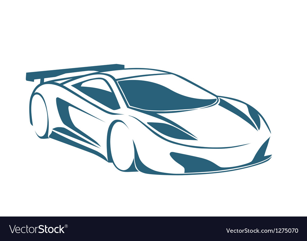 Racing auto logo and speed vector | Price: 1 Credit (USD $1)