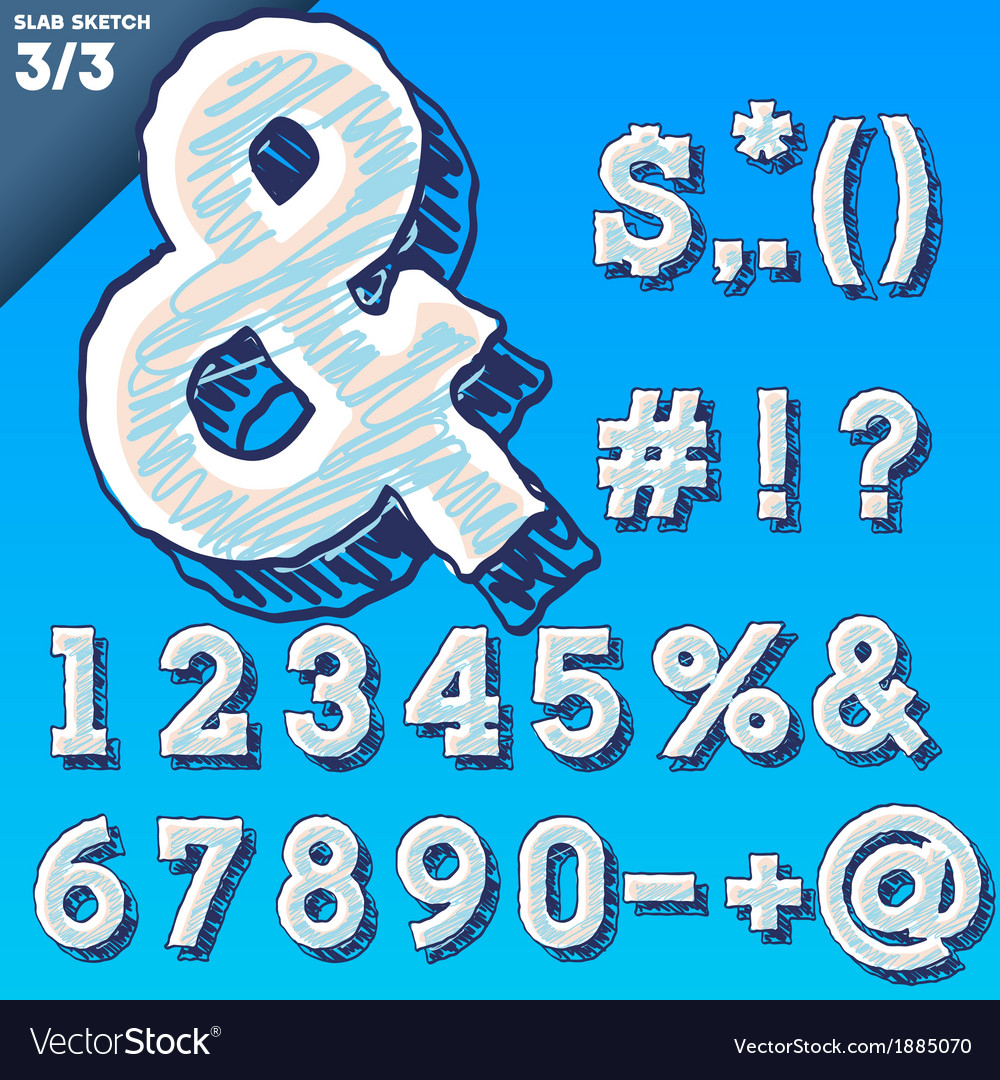 Sketch alphabet vector   Price: 1 Credit (USD $1)
