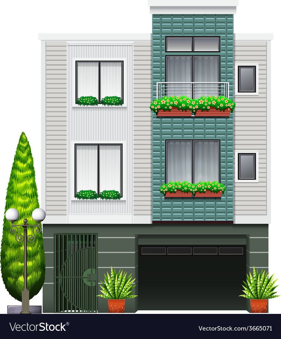 A big office building vector | Price: 3 Credit (USD $3)