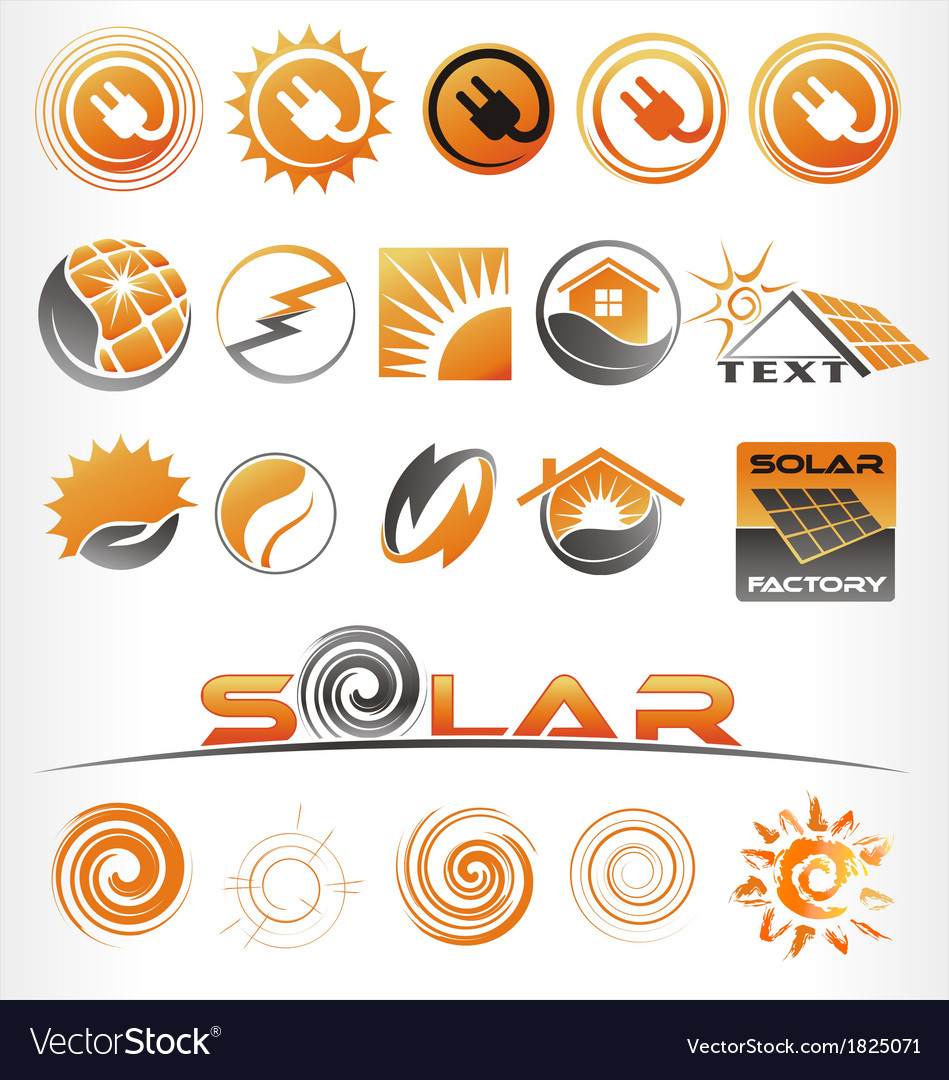 Solar vector | Price: 1 Credit (USD $1)