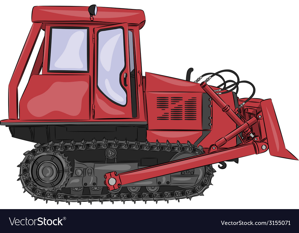 Tractor a vector | Price: 1 Credit (USD $1)