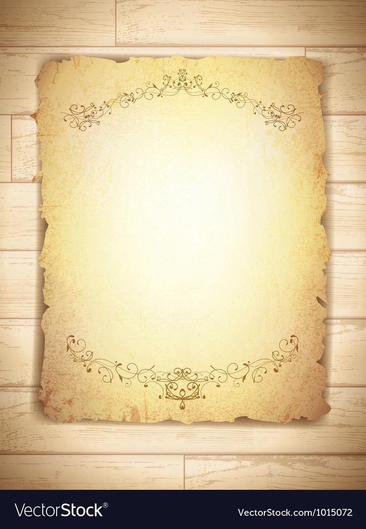 Vintage grunge burnt paper vector | Price: 1 Credit (USD $1)