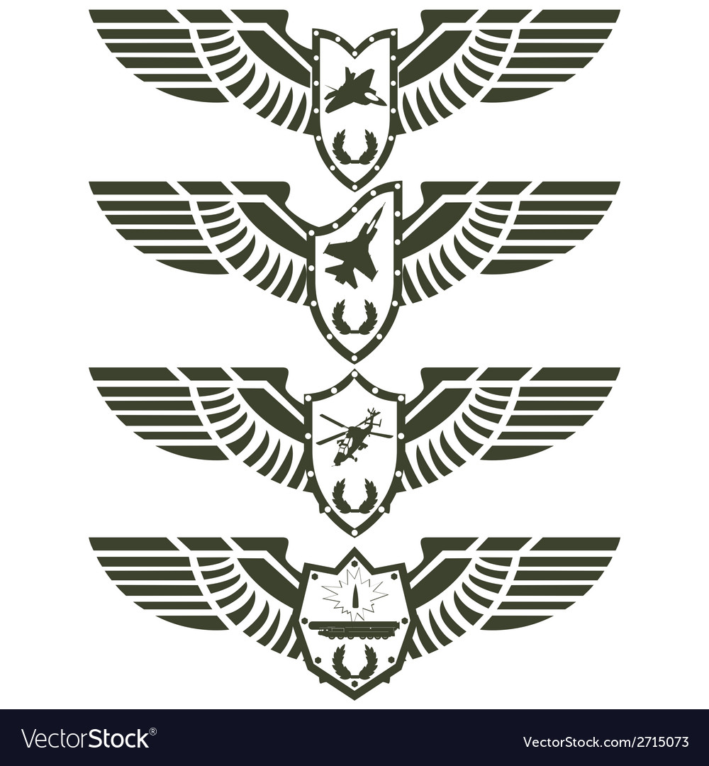 Army badges-2 vector | Price: 1 Credit (USD $1)