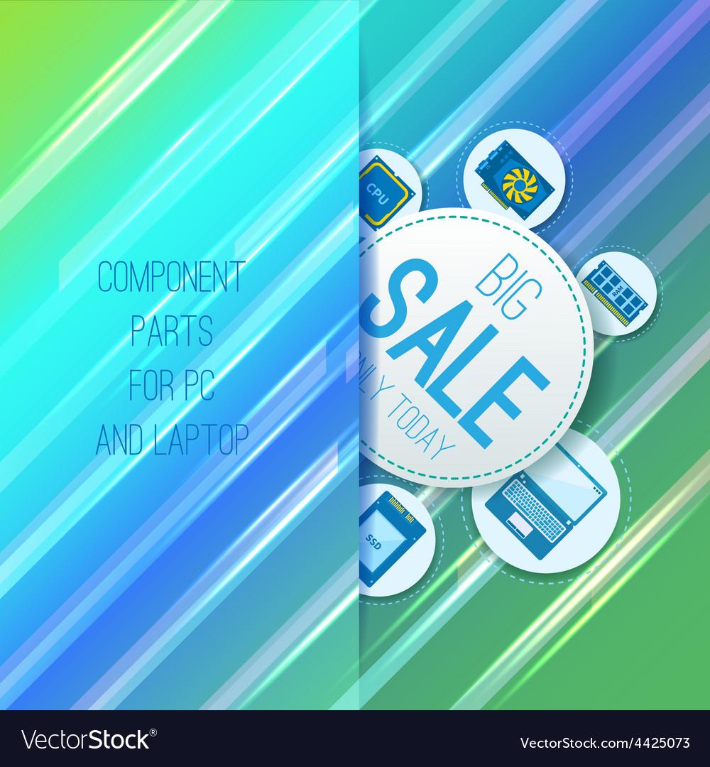 Component parts vector | Price: 3 Credit (USD $3)