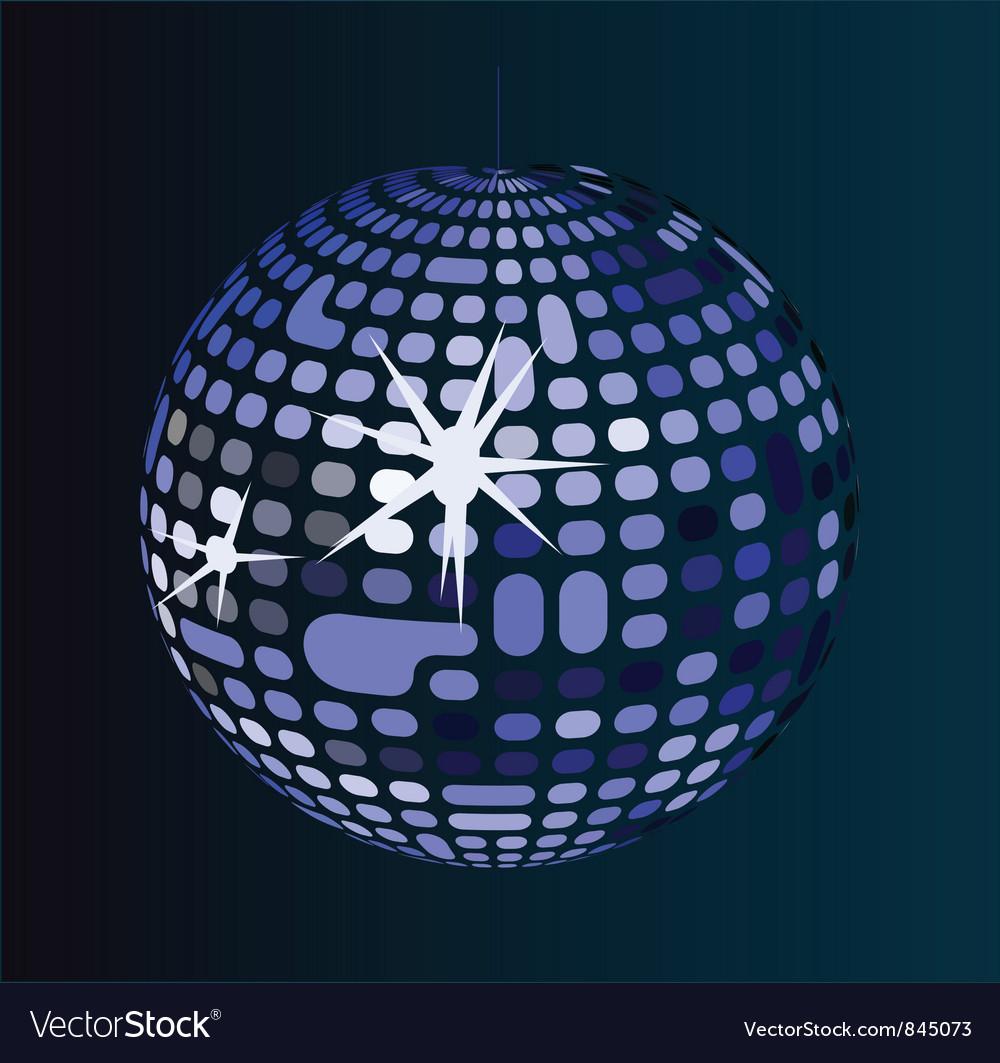 Retro disco ball vector | Price: 1 Credit (USD $1)