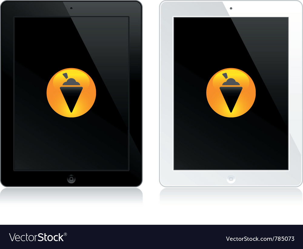 Tablet touch computers vector | Price: 1 Credit (USD $1)