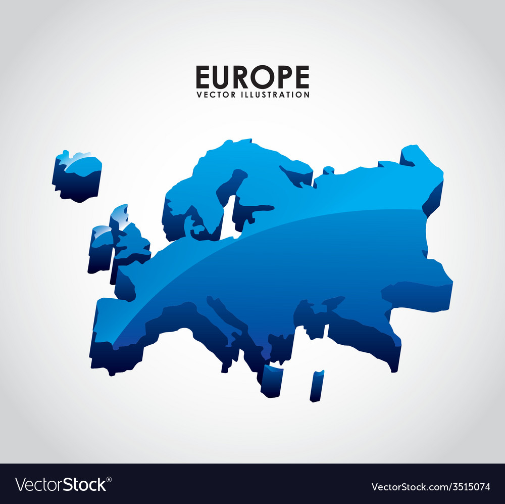 Europe design vector | Price: 1 Credit (USD $1)