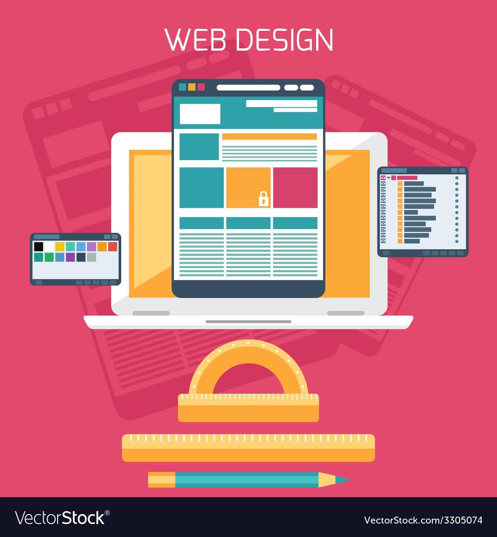 Web design program for design and architecture vector | Price: 1 Credit (USD $1)