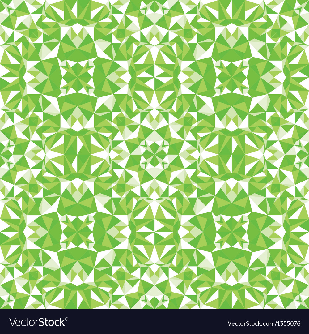 Green triangle texture seamless pattern background vector | Price: 1 Credit (USD $1)