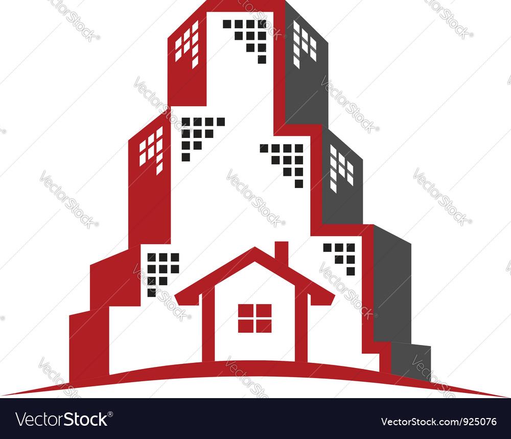 Logo real estate concept vector   Price: 1 Credit (USD $1)