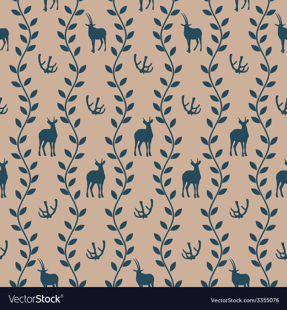 Seamless pattern in vintage style vector | Price: 1 Credit (USD $1)