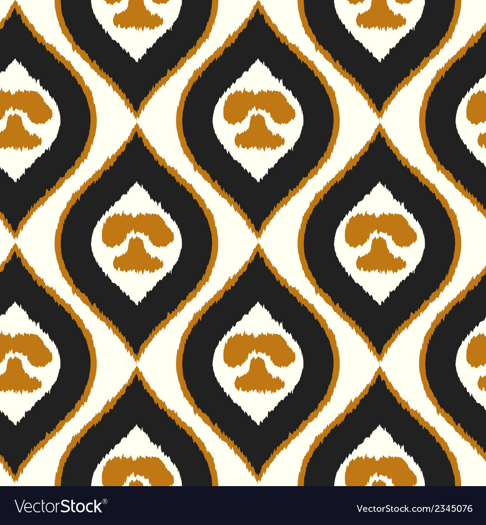 Seamless texture with abstract pattern tribal vector | Price: 1 Credit (USD $1)