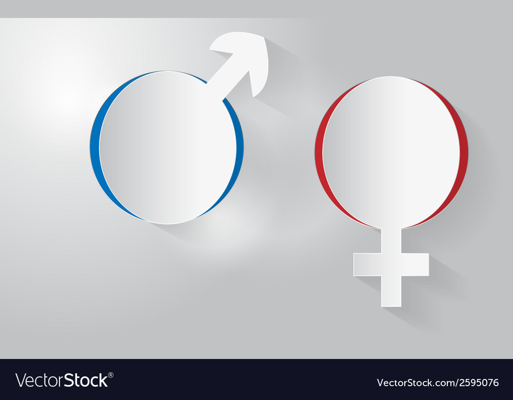 Sex symbols vector | Price: 1 Credit (USD $1)