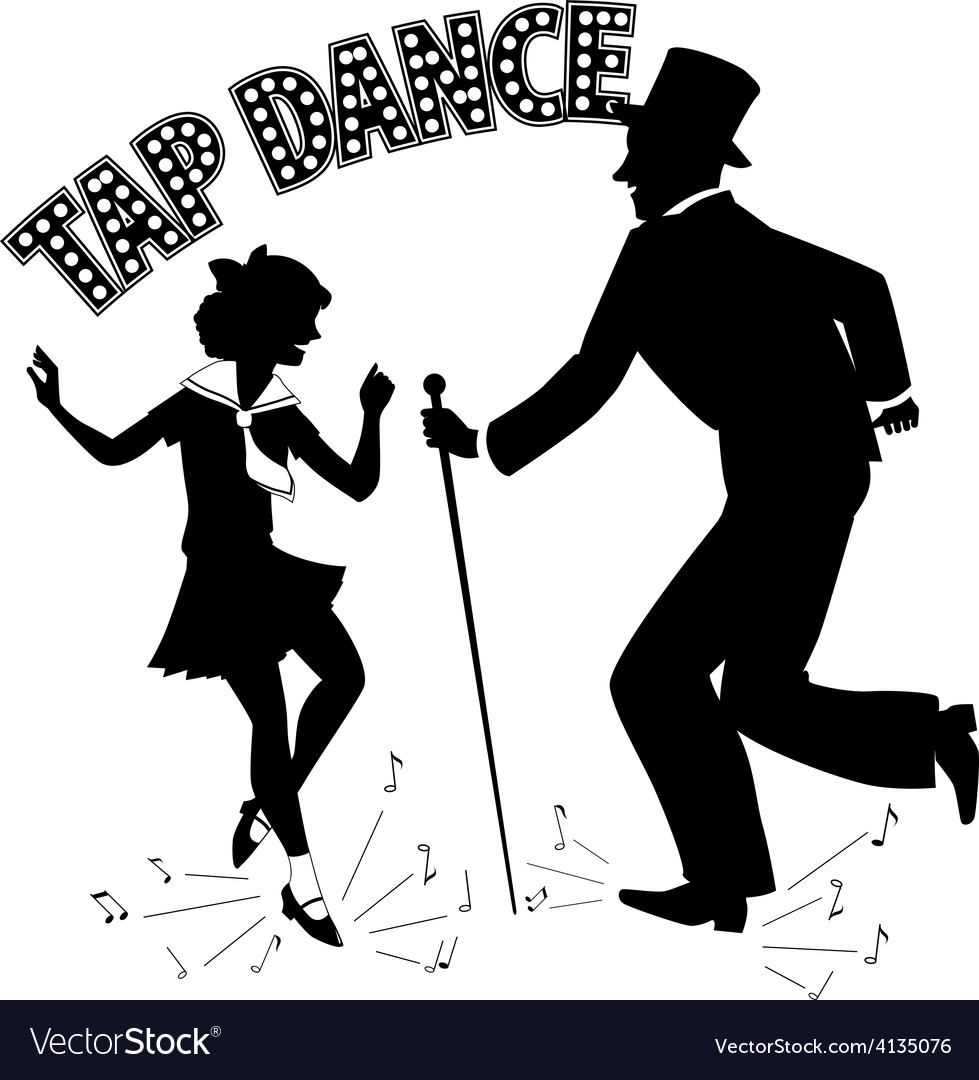 Tap dance teacher vector | Price: 1 Credit (USD $1)