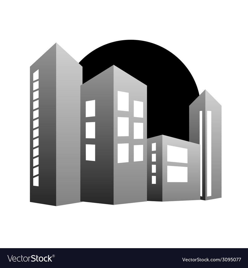 Building color vector | Price: 1 Credit (USD $1)