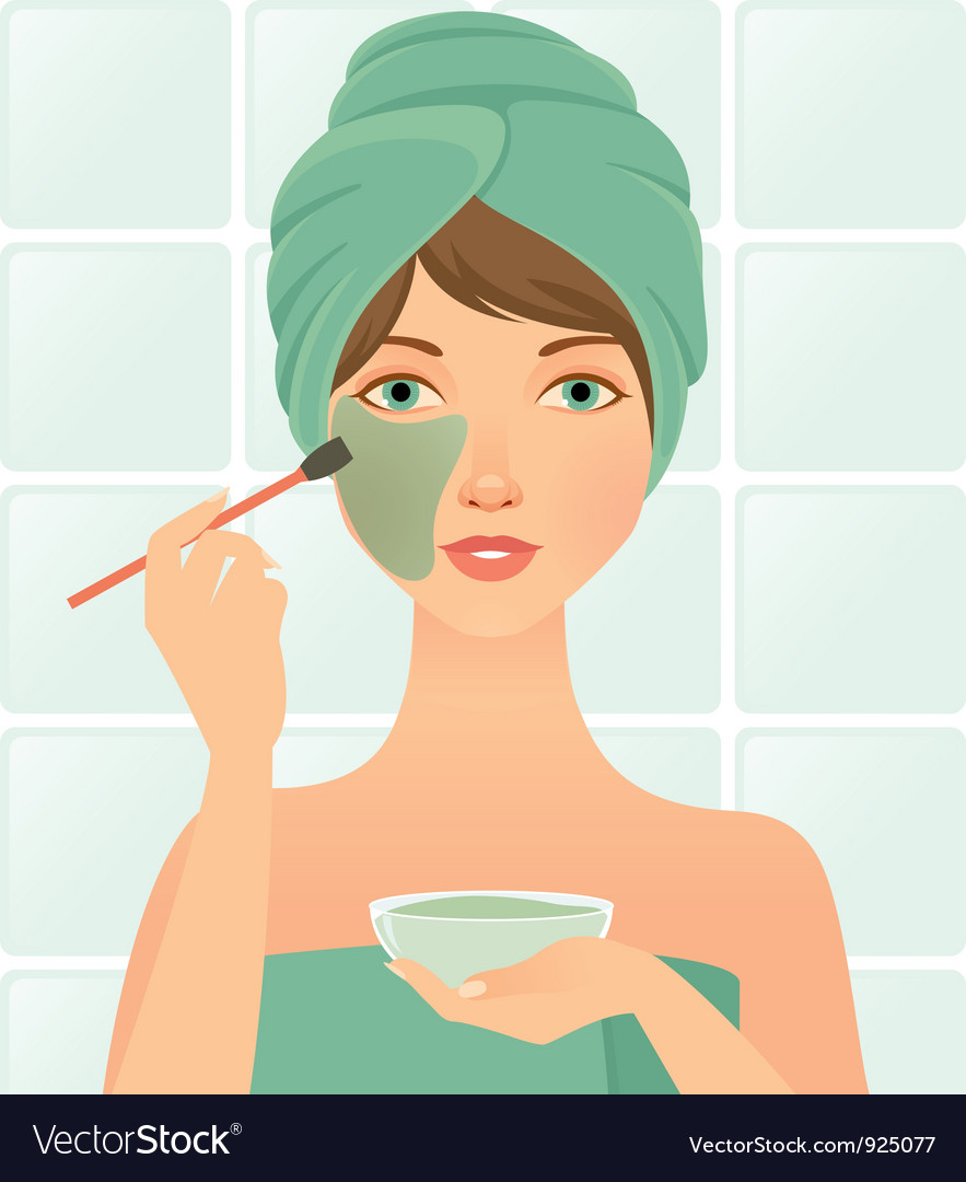 Facial mask vector | Price: 3 Credit (USD $3)