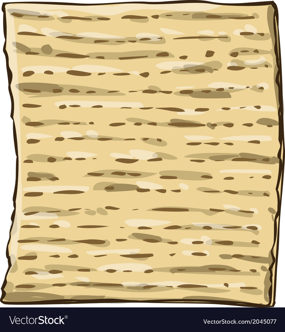 Matzah matzo for passover vector | Price: 1 Credit (USD $1)