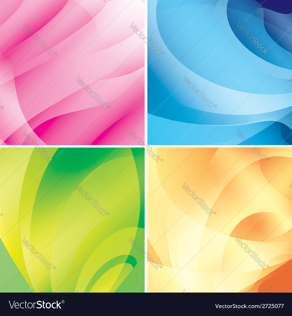 Set - bright abstract backgrounds vector | Price: 1 Credit (USD $1)
