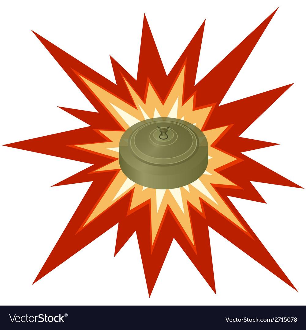 Antitank mine vector   Price: 1 Credit (USD $1)