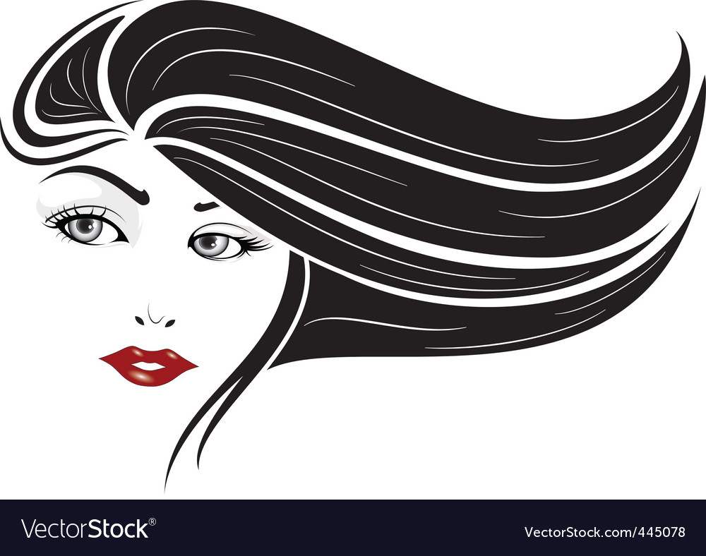 Glamour girl vector | Price: 1 Credit (USD $1)