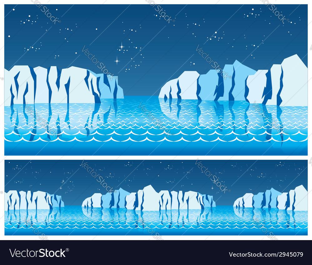 Polar ice vector | Price: 1 Credit (USD $1)