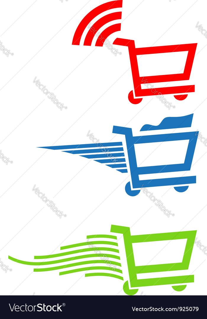 Shopping carts vector | Price: 1 Credit (USD $1)
