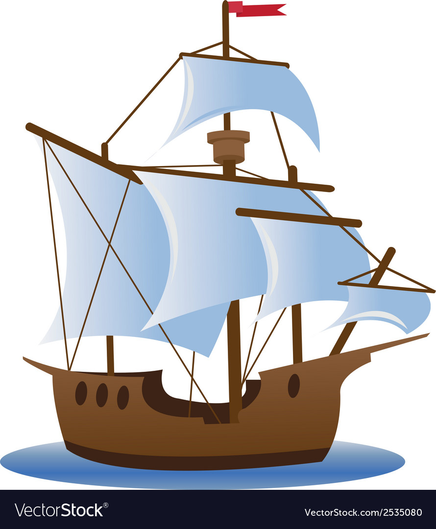 Caravel vector | Price: 1 Credit (USD $1)
