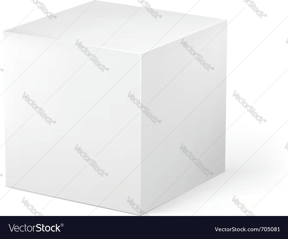 Cube vector | Price: 1 Credit (USD $1)