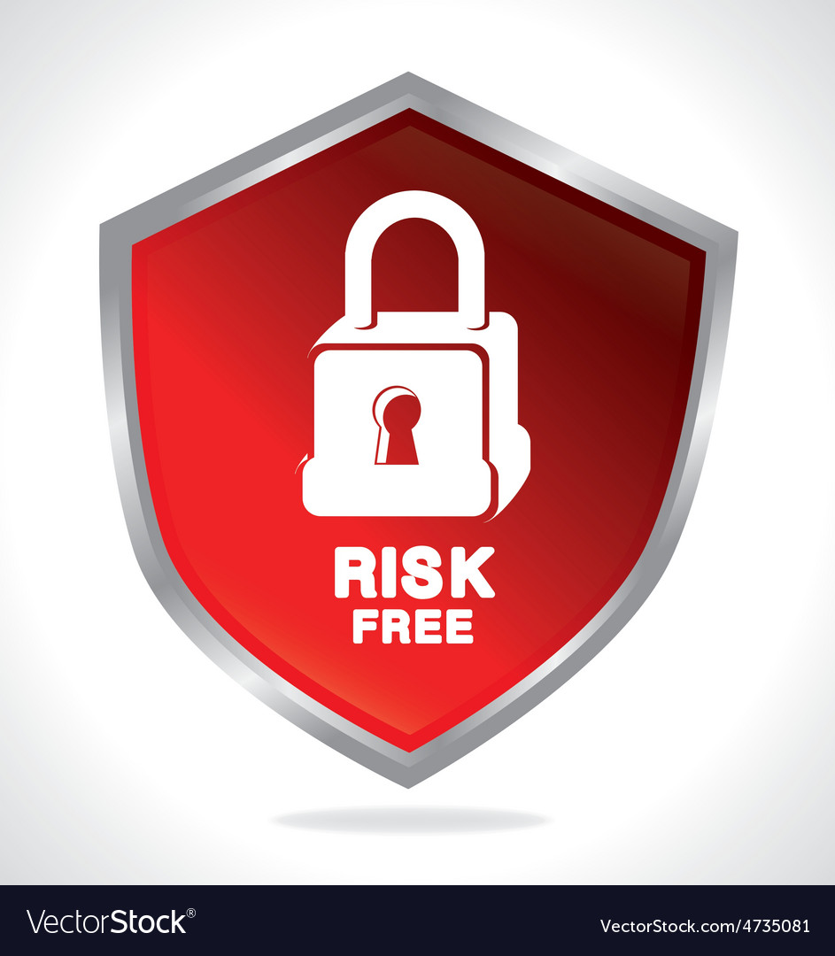 Risk free design vector | Price: 1 Credit (USD $1)