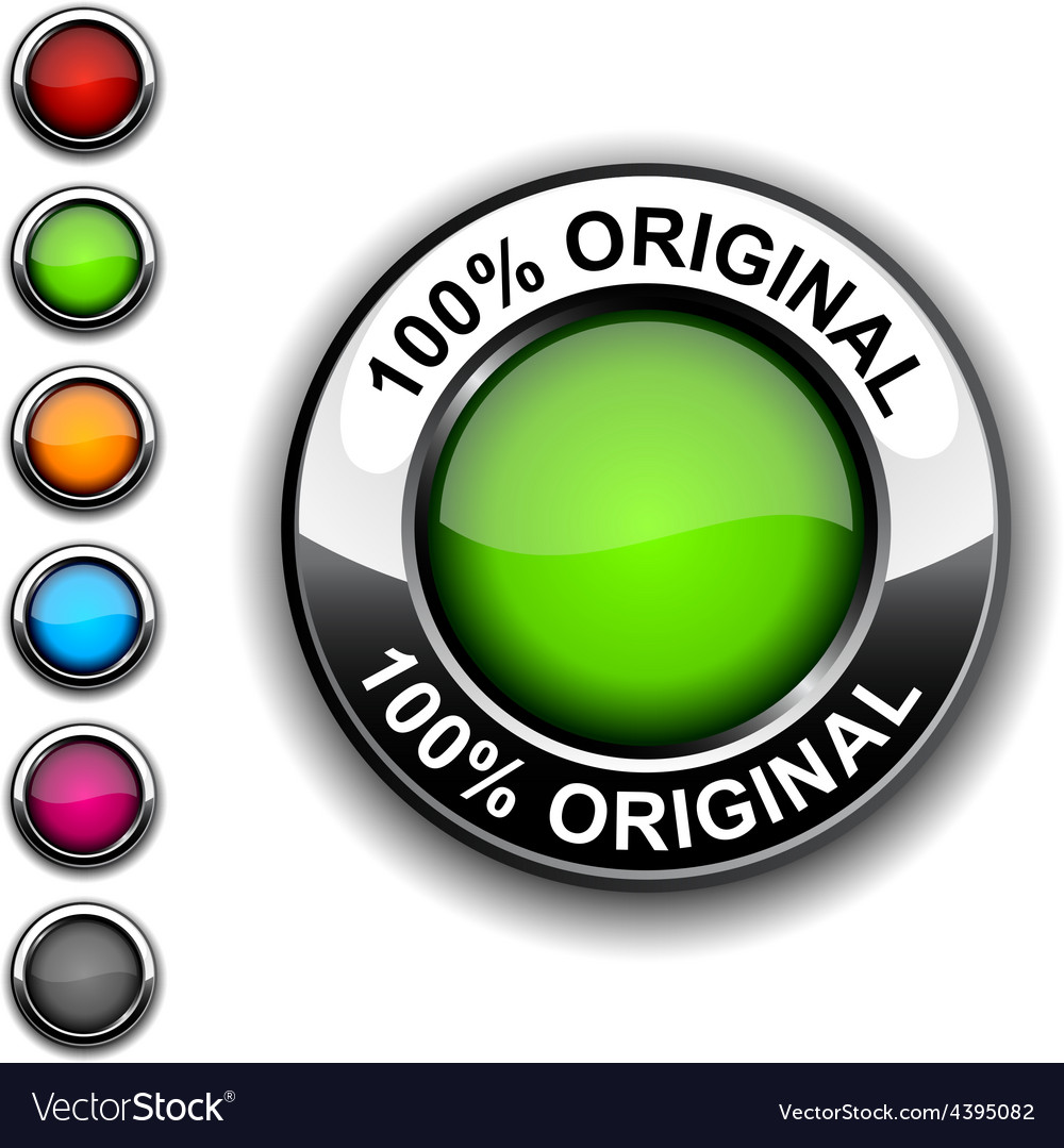 100 original button vector | Price: 1 Credit (USD $1)