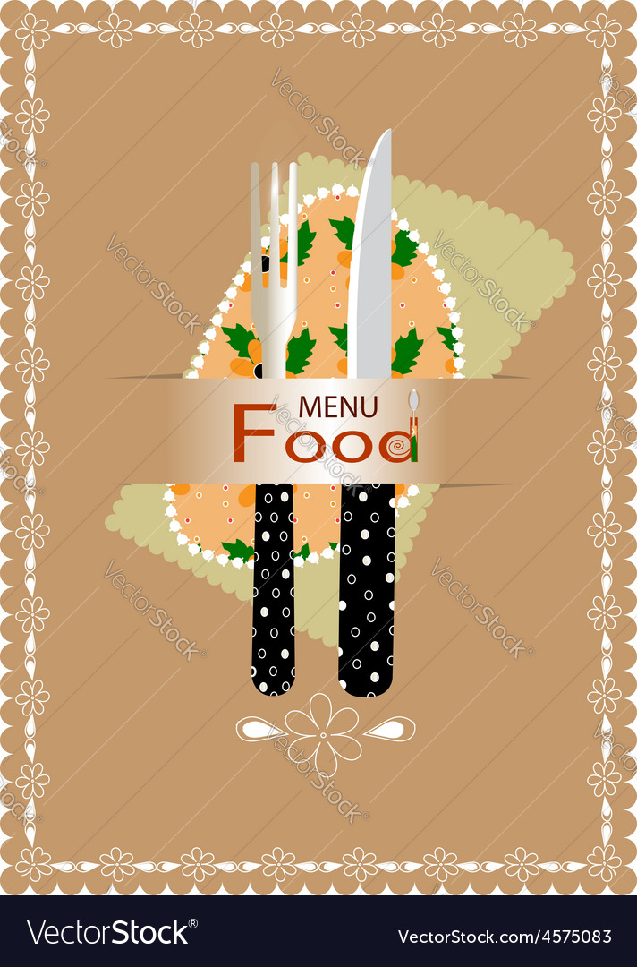 Fork and knife for eating vector | Price: 1 Credit (USD $1)
