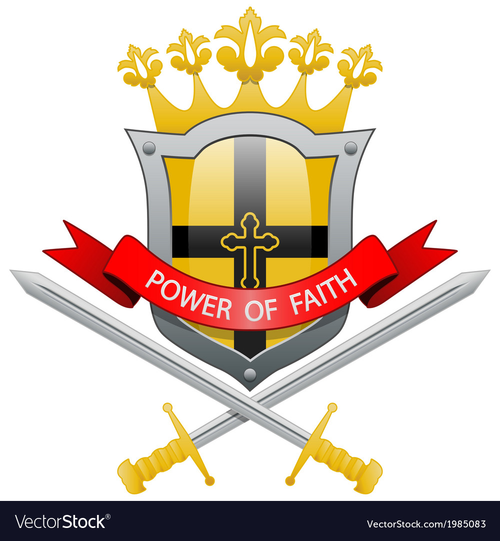 Power of faith vector | Price: 1 Credit (USD $1)