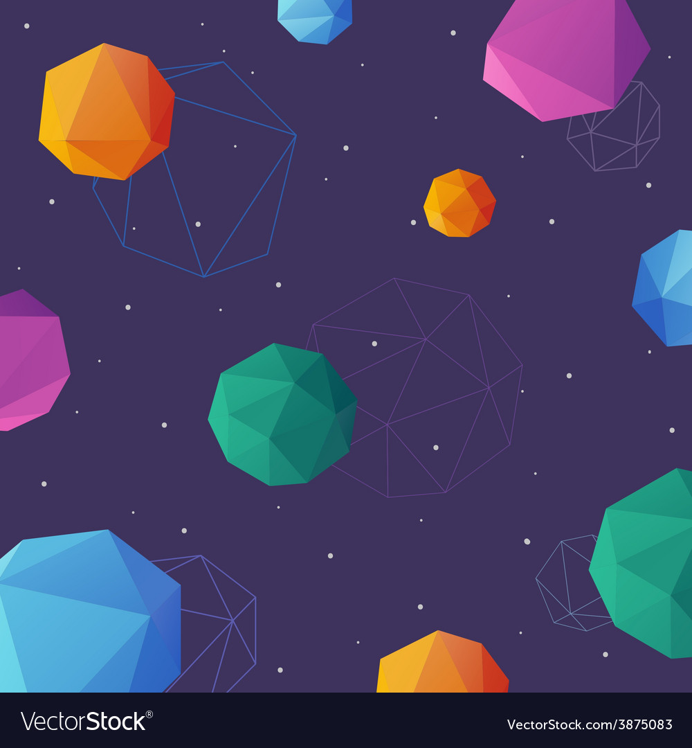 Space background abstract vector | Price: 1 Credit (USD $1)