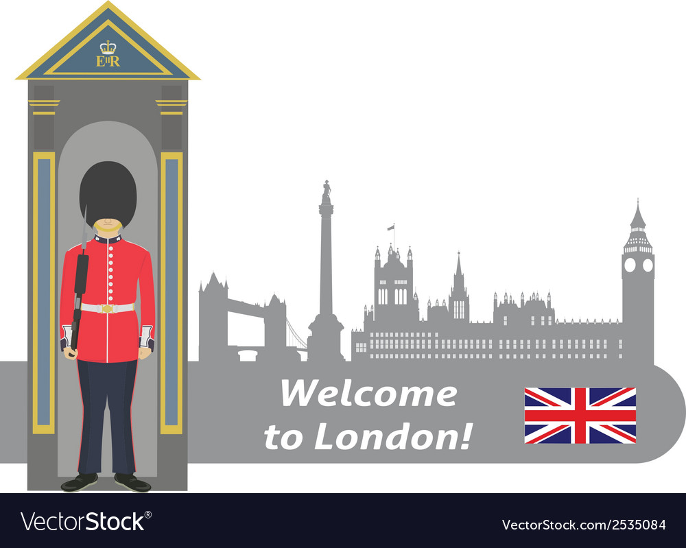British royal guard vector | Price: 1 Credit (USD $1)