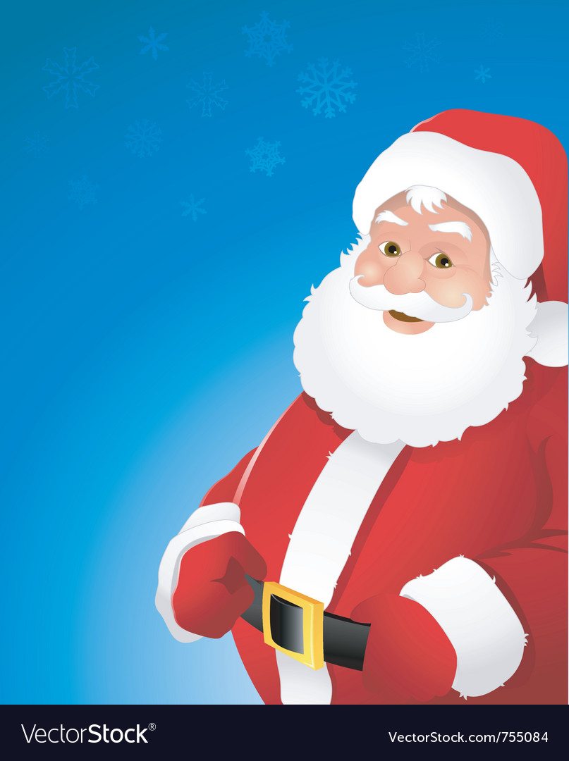 Christmas santa claus vector | Price: 1 Credit (USD $1)