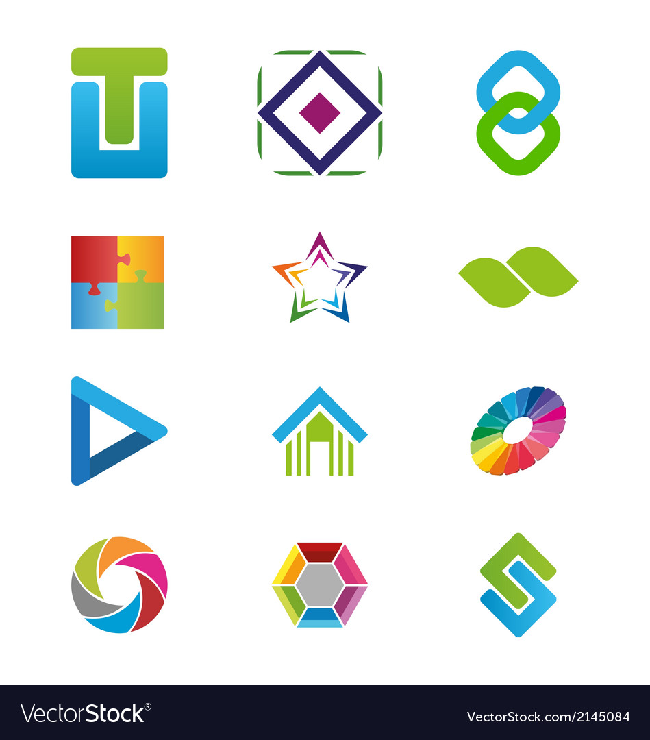 Creative logo elements vector | Price: 1 Credit (USD $1)