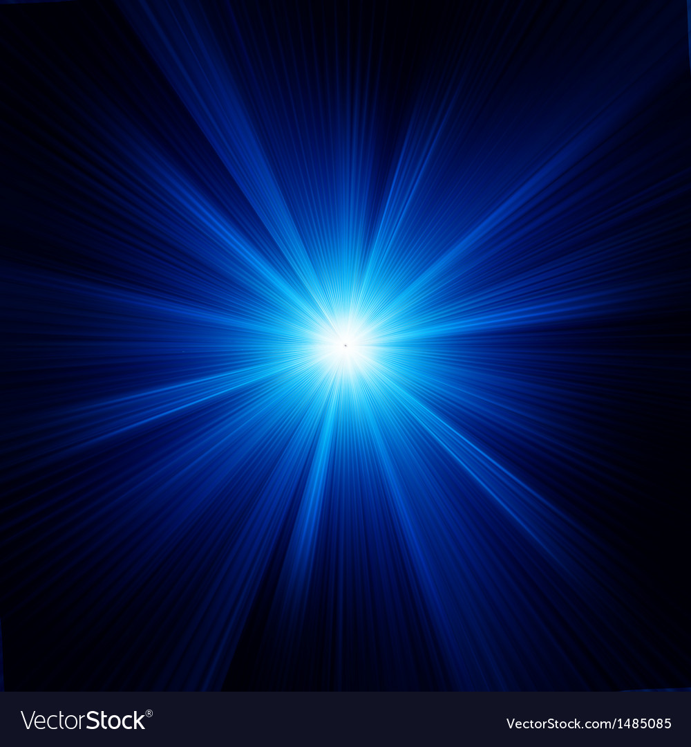 Blue color design with a burst eps 8 vector | Price: 1 Credit (USD $1)