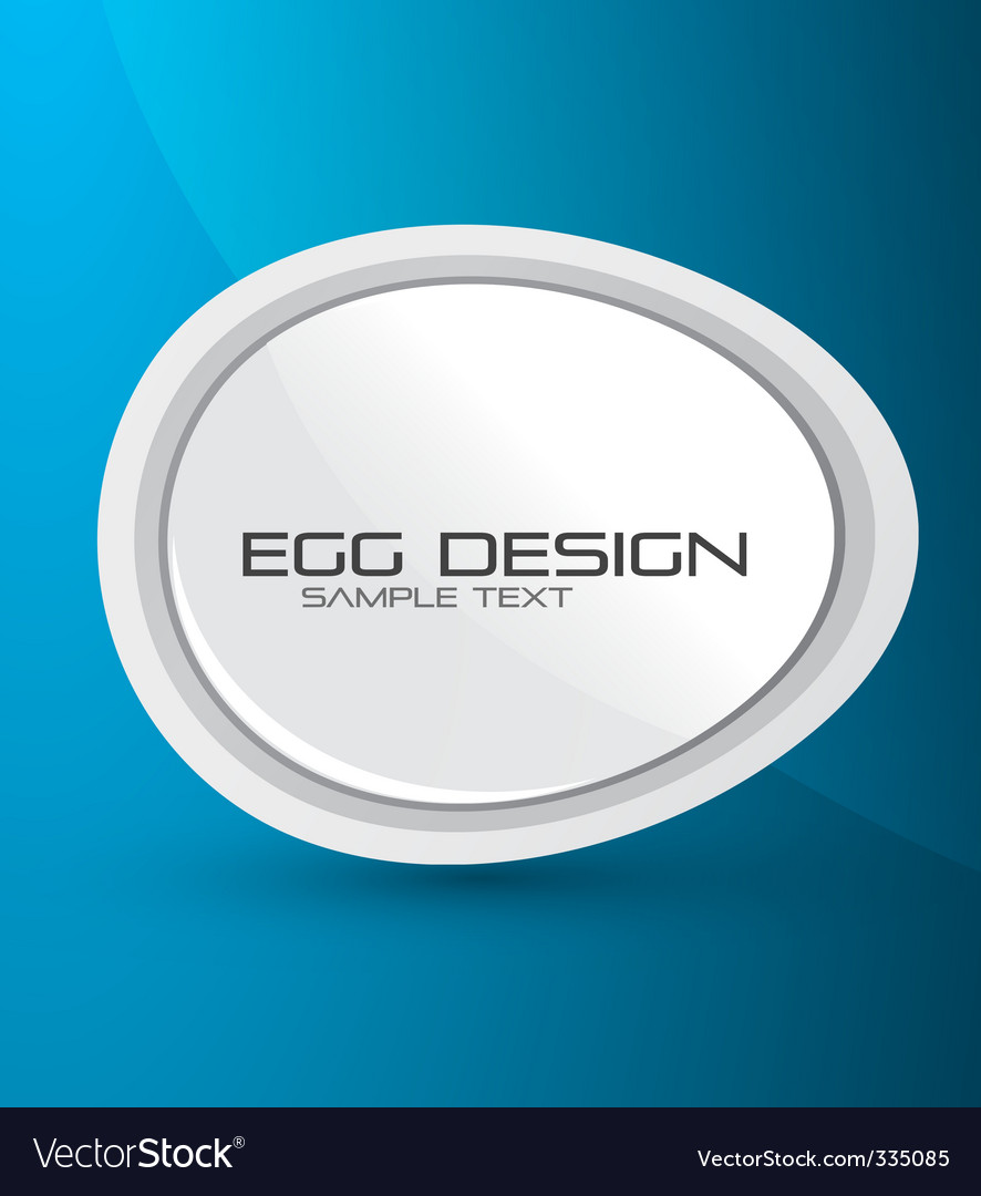 Egg design background vector | Price: 1 Credit (USD $1)