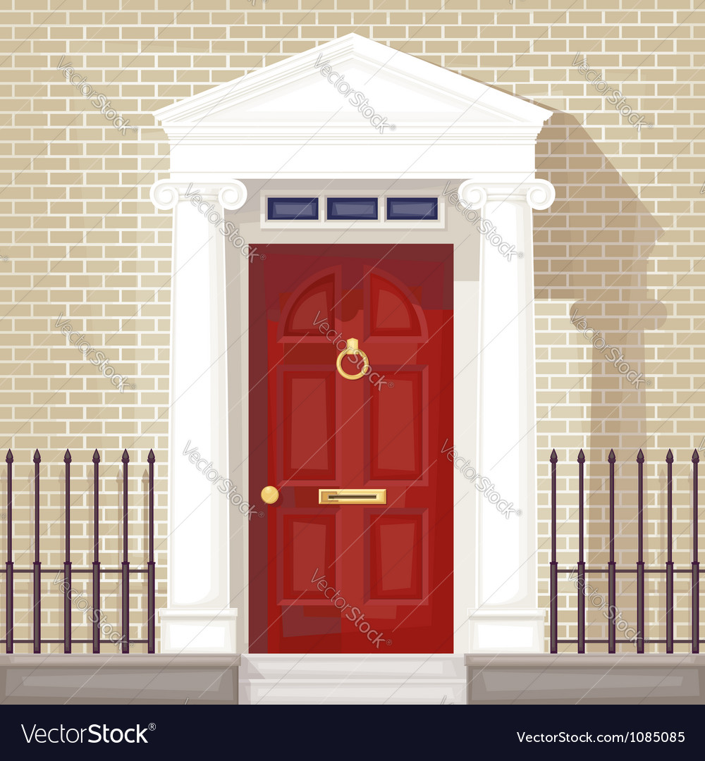 Front door vector | Price: 3 Credit (USD $3)