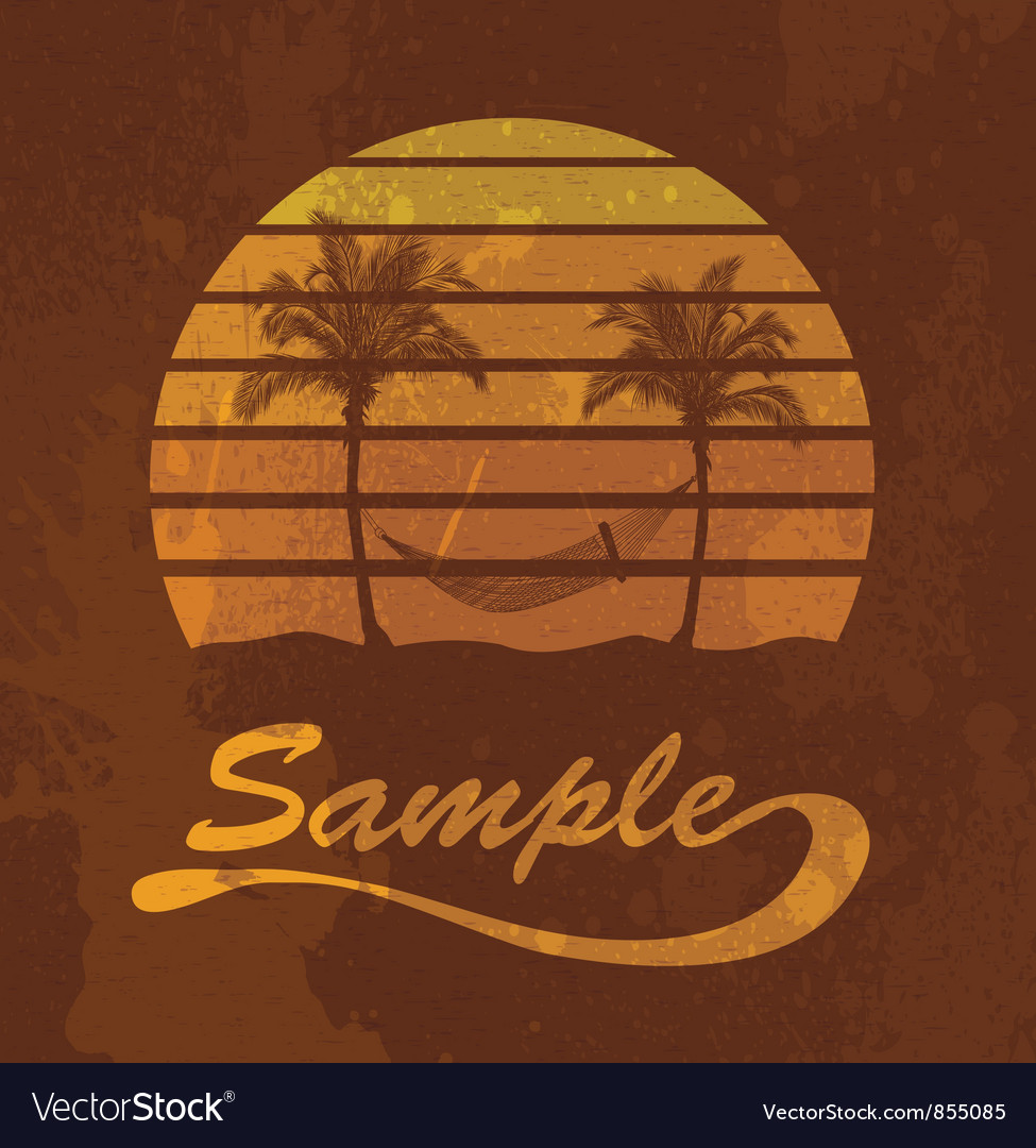 Grunge summer vector | Price: 1 Credit (USD $1)