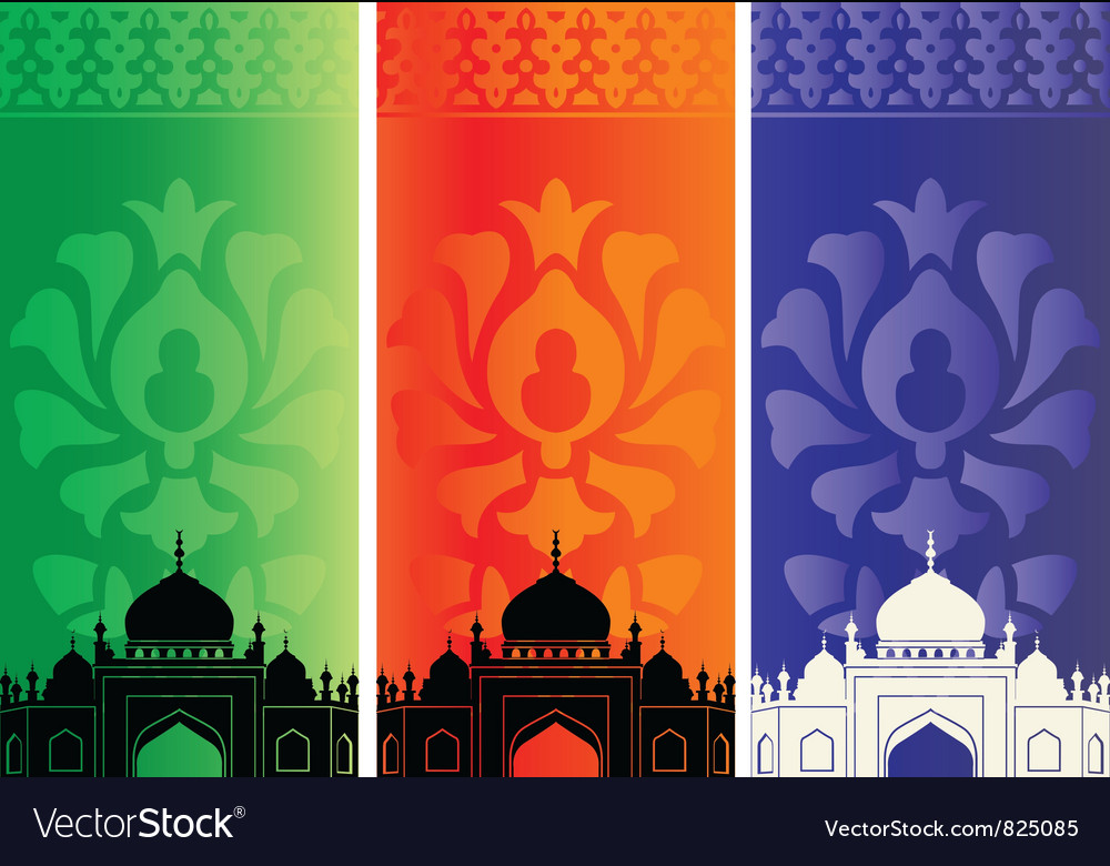 Islamic mosques vector | Price: 1 Credit (USD $1)
