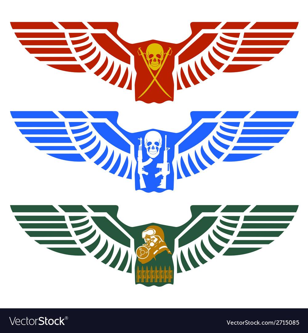 Military icon vector | Price: 1 Credit (USD $1)