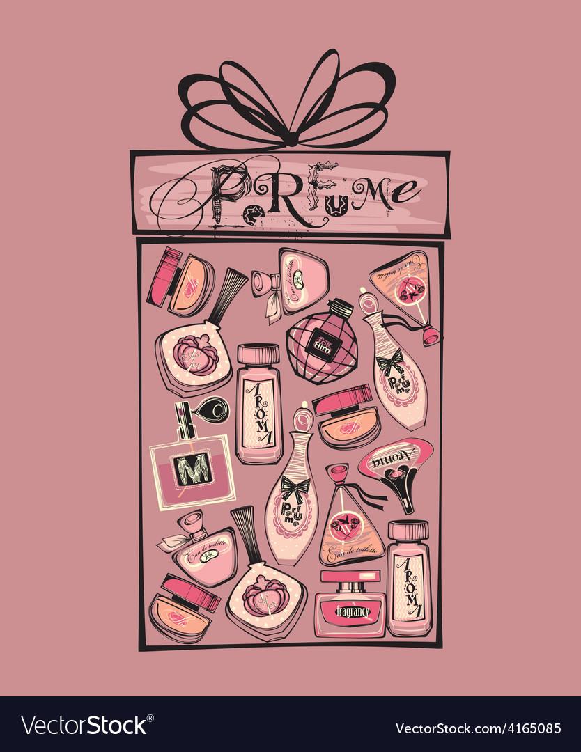 Perfume bottle vector   Price: 1 Credit (USD $1)