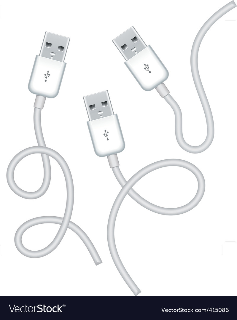 usb plugs vector | Price: 1 Credit (USD $1)